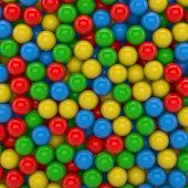 3D - Colored Balls 1