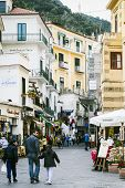 Main Street In Amalfi, Italy