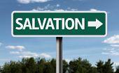 Salvation creative sign