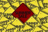 Summer Sale written on multiple road sign
