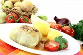 Stuffed Cabbage With Potatoes