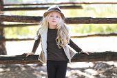 Fashionable Teen Girl, Blonde