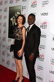 LOS ANGELES - NOV 6:  Jessica Oyelowo, David Oyelowo at the AFI FEST 2014 Screening Of