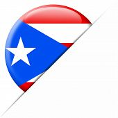Puerto Rico Pocket Flag