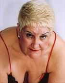 pic of matron  - Matrone in Negligee - JPG
