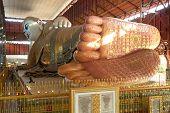 Footprint Of Reclining Buddha .