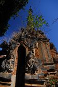 Sanctuary Shwe Inn Taing Paya Near Inle Lake,Myanmar.
