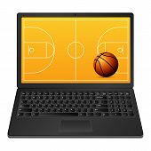 Laptop Basketball