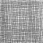 Scribble Cell Pattern Hand Drawn in Pencil