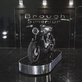 Brough Superior Motobike At Eicma 2014 In Milan, Italy