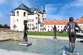 Monastery gardens, Litomysl (UNESCO), Czech republic