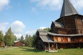 Wooden Architecture Church Russia