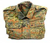Military Uniform Isolated