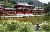 Japanese Pagoda style Temple Hawaii