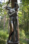 Sculpture Venus Callipyge,  Goddess Of Love And Beauty, Pavlovsk Park