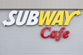Subway Cafe Sign