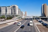 On The Street In Astana
