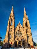 St Paul's Church In Strasbourg - Alsace, France