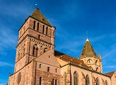 Saint Thomas Church In Strasbourg - Alsace, France