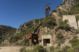 pic of luigi  - Abandoned mine of San Luigi in south west sardinia - JPG