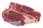 T-bone Steak At An Angle