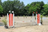 Equitation obstacle