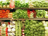 picture of grocery store  - fresh produce