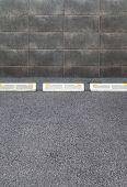 foto of parking lot  - Empty Space in a car parking Lot - JPG
