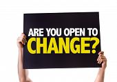 stock photo of stagnation  - Are You Open to Change - JPG