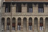 Walls of a Medieval Castle in Bologna poster
