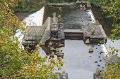 picture of dam  - Dolymynach Dam part of the Elan Valley Dams - JPG