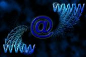 WWW & Email Background