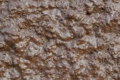 pic of crude  - close up brown crude concrete grunge texture background - JPG