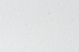 picture of bubble sheet  - close up seamless background and texture of white foamed polystyrene sheet surface in closeup - JPG