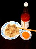 Wonton With Hot Spicy Sauce poster