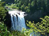 Snoqualmie Falls breit erschossen