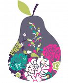 a cute pear design