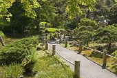 The Japanese Tea Garden Walkway