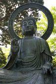 Large Bronze Buddha