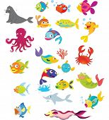 foto of sea fish  - Illustration of life under the sea - JPG