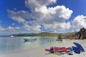 Tropical Island Resort Beach
