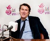 MOSCOW - JUNE,5: Musician BRYAN FERRY (Roxy Music). Press Conference Muz-TV Award 2009 at Olimpiisky Stadium. June 5, 2009 in Moscow, Russia.