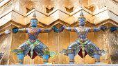 Guarda Daemon - Royal Palace, Banguecoque, Tailândia.