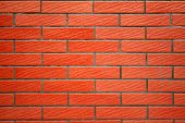 detailed red brick wall texture