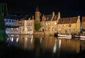 Boats In Bruges