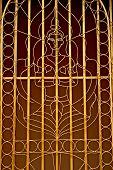 Buddhist Window Grill