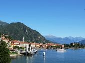 Lake Como and Menaggio town, Italy