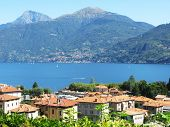 Menaggio town at famous Italian lake Como  outdoor