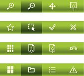 Green Bar Viewer Icons