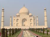 picture of mumtaj  - The Taj Mahal in Agra Uttar Pradesh India.